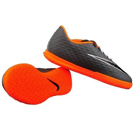 6afded3b Обувь для зала NIKE JR PHANTOMX 3 CLUB IC AH7296-081 детская цвет: серый. ‹  ›
