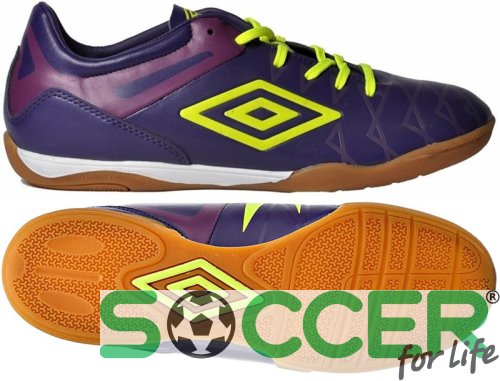 Обувь для зала Umbro UMBRO UX-1 CLUB IC 80862U (CRC) т.фиол/жел/фиол