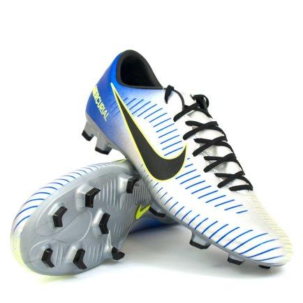 new arrival 80bfc 7be3a Бутсы Nike Mercurial Victory VI NJR FG 921509-407 цвет: серебристый  (официальная гарантия)