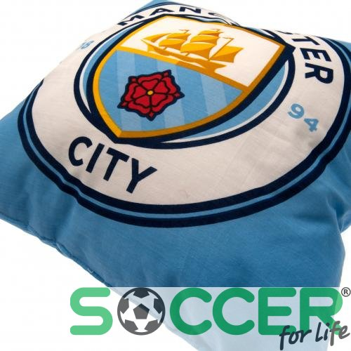 Подушка Manchester City F.C. Cushion (Манчестер Сіті) колір: блакитний