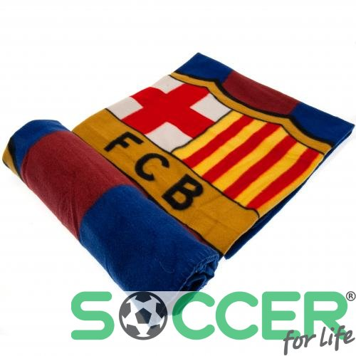 Одеяло флисовое Барселона (F.C. Barcelona Fleece Blanket ST)