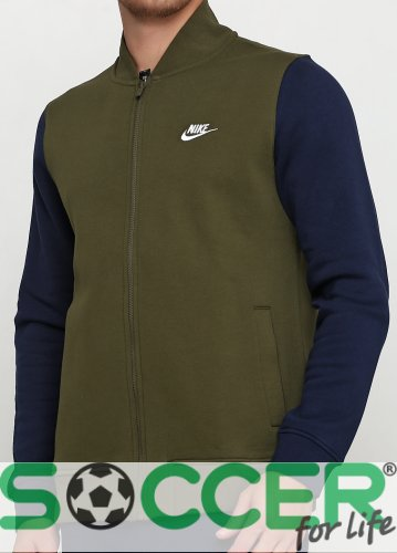 Спортивная кофта Nike M NSW CLUB BOMBR BB TRND 928461-395