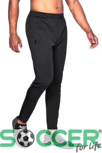 Штаны спортивные Under Armour SPORTSTYLE PIQUE TRACK PANT-BLK 1313201-002