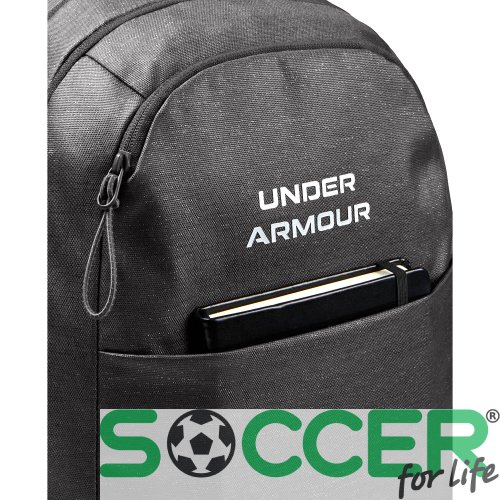 Рюкзак Under Armour Hustle Signature Backpack-GRY 1355696-010