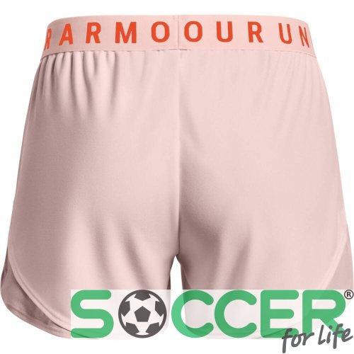 Шорты Under Armour Play Up Shorts 3.0-PNK 1344552-659 женские