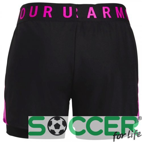 Шорти Under Armour Play Up 2-in-1 Shorts-BLK 1351981-005 жіночі