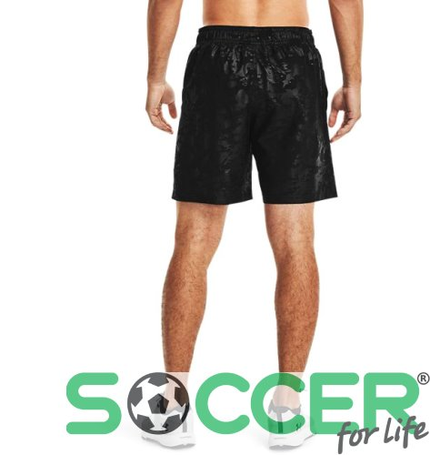 Шорти Under Armour Woven Emboss Shorts-BLK 1361432-001