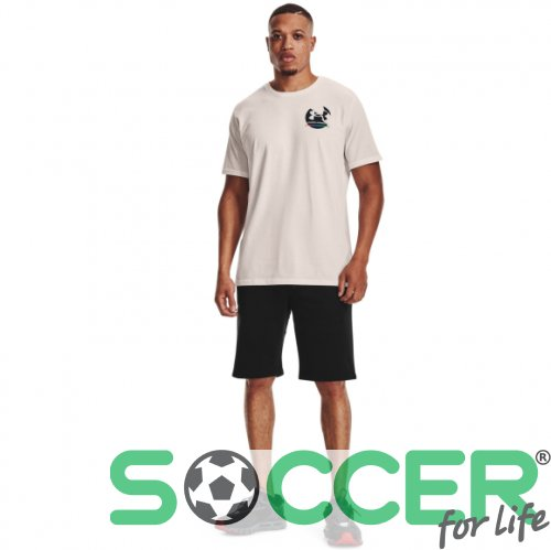 Шорты Under Armour Rival Cotton Short-BLK 1363932-001