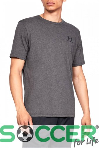 Футболка Under Armour SPORTSTYLE LC SS-GRY 1326799-019