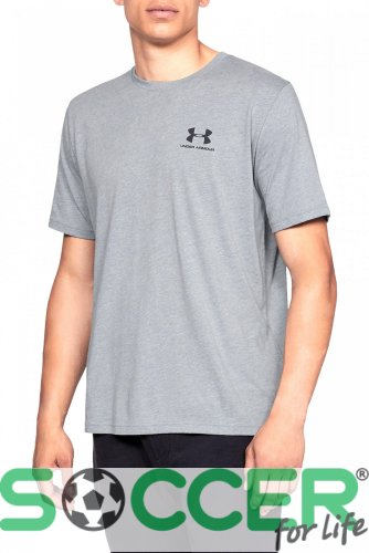 Футболка Under Armour SPORTSTYLE LC SS-GRY 1326799-036