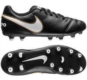 538fb0847 Бутсы Nike TIEMPO RIO III FG JR 819195-010 детские цвет: черный (официальная