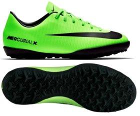 e9a128d2 Многошиповки Nike JR MERCURIALX VICTORY VI TF 831949-303 детские цвет:  зеленый (официальная