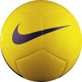 6efe7a60 Мяч футбольный Nike PITCH TEAM SC3166-701 желтый. Размер 5