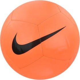2a037a0ac674be Мяч футбольный Nike PITCH TEAM SC3166-803 оранжевый. Размер 5