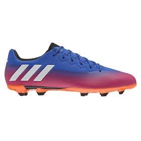 0b1a3751 Бутсы Adidas MESSI 16.3 FG BA9021 цвет: голубой/розовый/оранжевый  (официальная гарантия