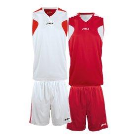 221bb3ad Баскетбольная форма Joma REVERSIBLE BASKET SET 1184.003 цвет: красный, белый