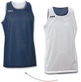 0a07a6ad Баскетбольная футболка Joma REVERSIBLE 100050.300 двусторонняя цвет: темно- синий/белый