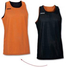 fa5b061c Баскетбольная футболка Joma REVERSIBLE 100050.800 двусторонняя цвет:  оранжевый/белый