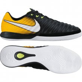 15b25e9a Обувь для зала NIKE TIEMPOX FINALE IC 897761-008 цвет: черный/желтый (