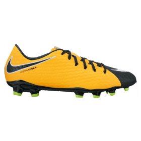 03a35ef4 Бутсы Nike Hypervenom Phelon III FG 852556-801 цвет: оранжевый/зеленый  (официальная